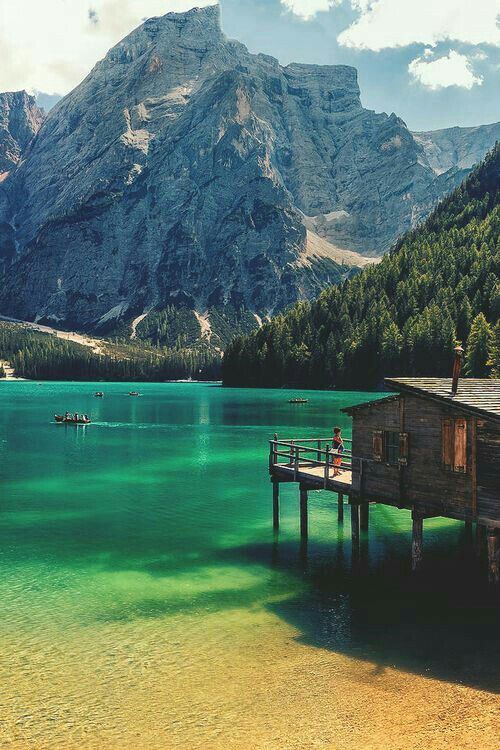 The Pragser Wildsee, or Lake Prags, Lake Braies (Italian: Lago di Braies; German: Pragser Wildsee) is a lake in the Prags Dolomites in South Tyrol, Italy. It belongs to the municipality of Prags which is located in the Prags valley.  During World War II it was the scene of the transport of concentration camp inmates to Tyrol.