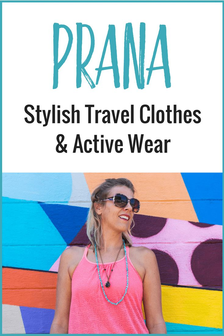 Looking for stylish travel clothing and active wear? Prana has a great range of clothes or men and women that not only look good, but are sustainable and good for the environment!