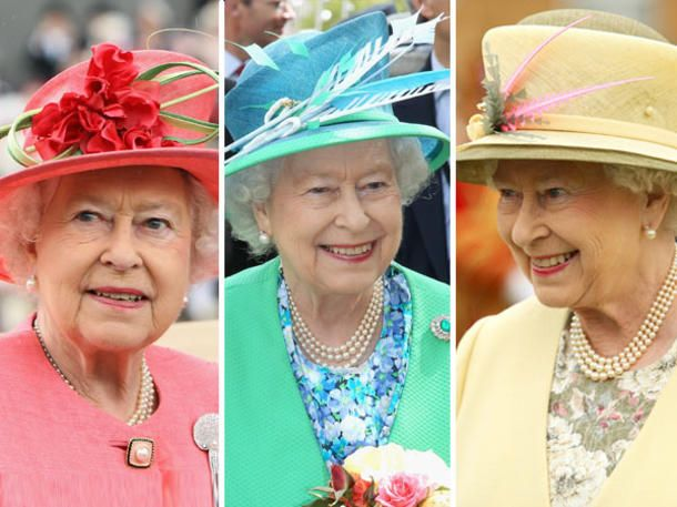 Königin Elisabeth II. regiert mittlerweile seit 57 Jahren. Sie ist unsere Queen der Hüte, Farben und prächtigem Schmuck! Wir öffnen das Tor zu ihrem Kleiderschrank.