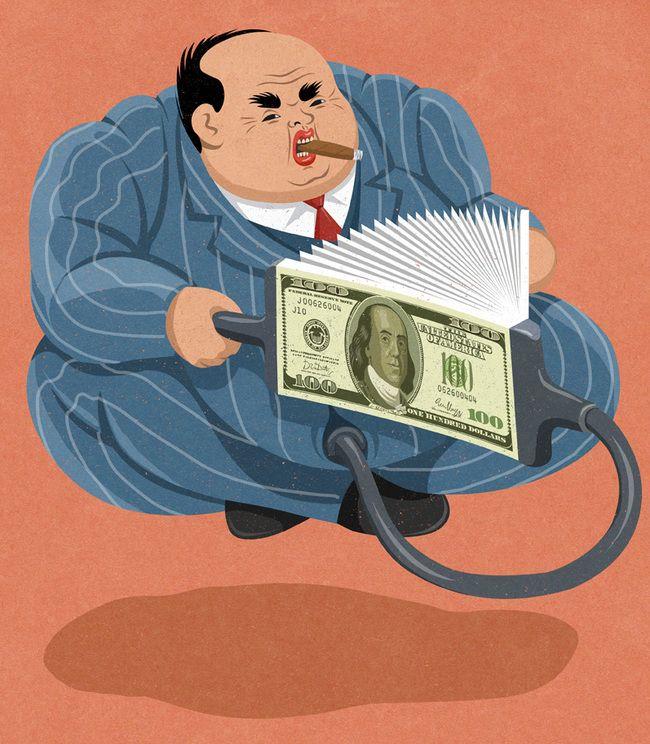 Los ricos cada vez son más ricos.