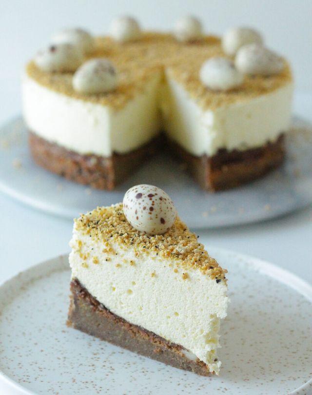 Lakridskage Med Hvid Chokolade Og Citronfromage Paskekage I 2020 Med Billeder Laekre Kager Mad Ideer Dessert