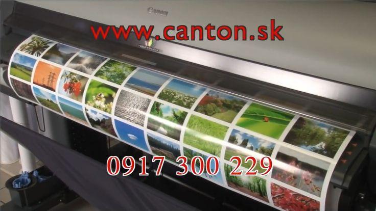 Egyik gépünk iPF8300s - nagyszerű plakátok, vászonfotók, nagyobb képek, de akár műszaki tervrajzok nyomtatására is.