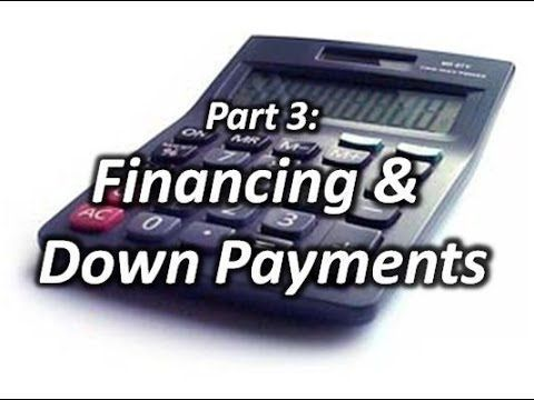 HaylettRV - Getting the Best Deal Part 3: RV Financing & Down Payments w...