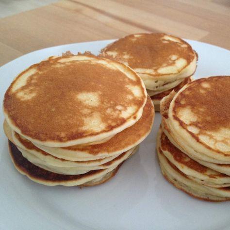 Rezept Original amerikanische Pancakes, die Besten die ich je gegessen habe von Abel - Rezept der Kategorie Backen süß