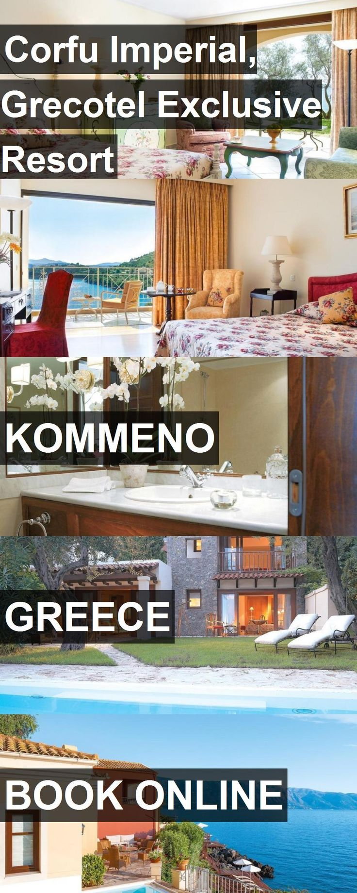 Hotel Corfu Imperial, Grecotel Exclusive Resort in Kommeno, Greece. For more information, photos, reviews and best prices please follow the link. #Greece #Kommeno #travel #vacation #hotel