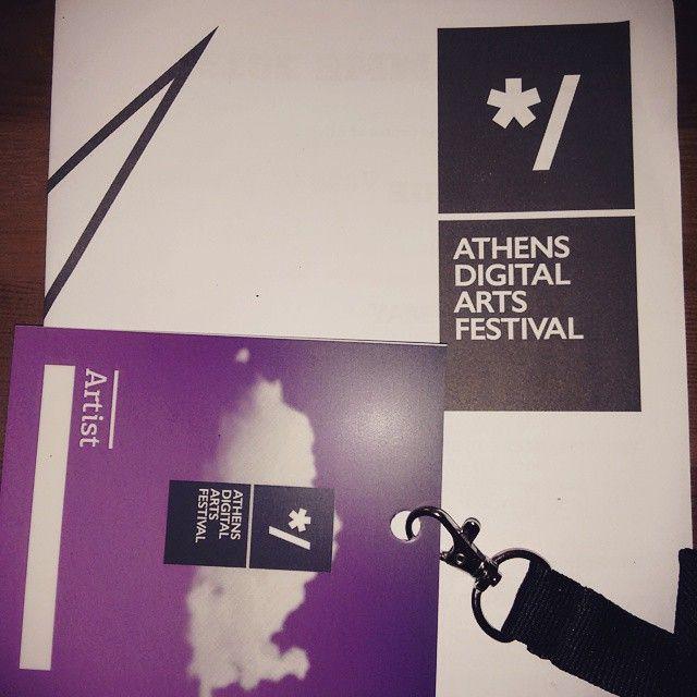 NOdesign participation of athens digital arts festival #adaf with our animation shortfilm THE END OF GENIUS . Andreas Platis + Christos Ioannou .