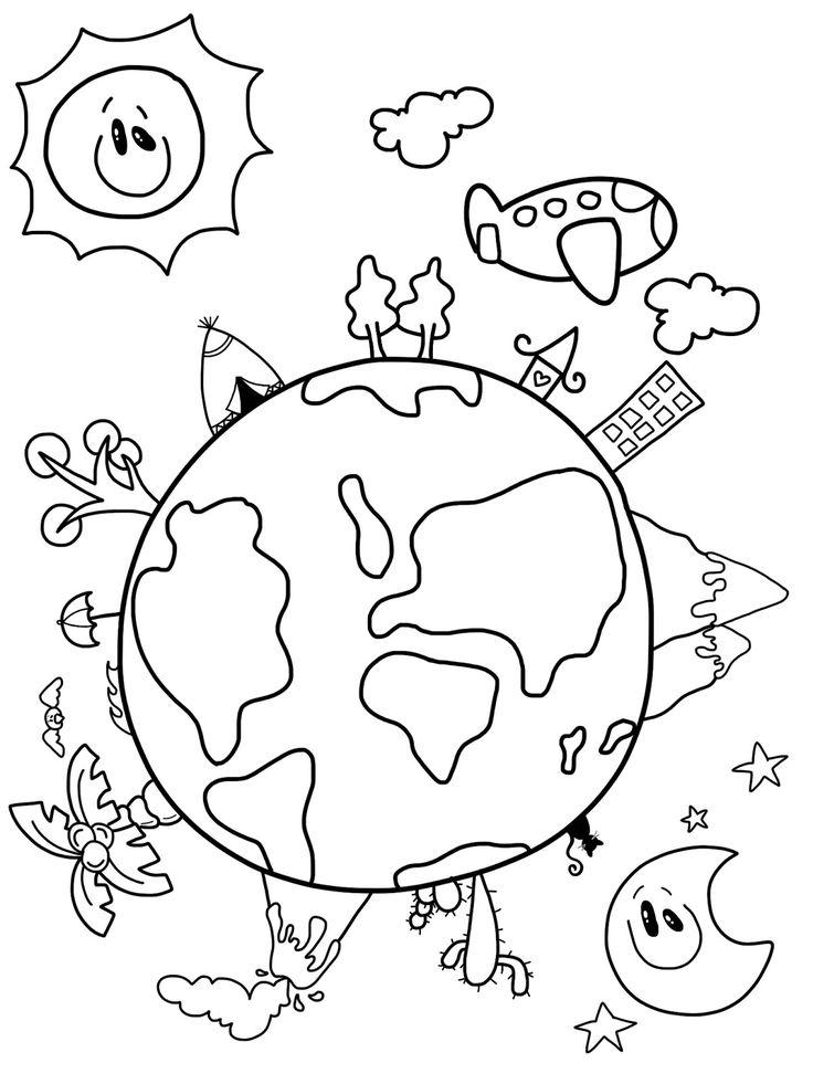 язык картинки как раскрасить нашу планету всё ярче