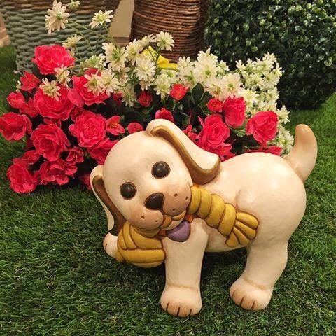 Tra le tantissime novità di #Thun, trovi il simpatico #Willi con corda...dolcissimo #cucciolo con tanta voglia di giocare !!!