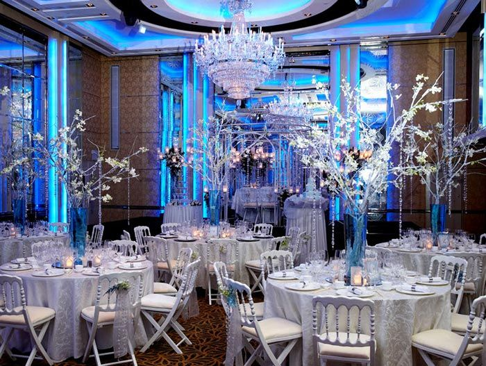 Outdoor christmas decoration ideas on a budget - Gallery For Gt Winter Wonderland Wedding Reception