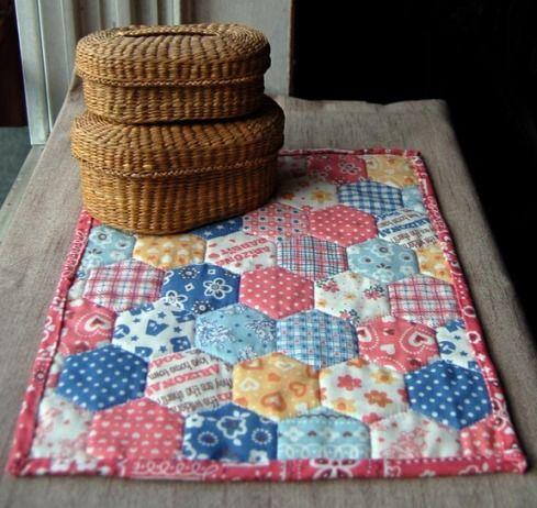 Quarter quilt as practice