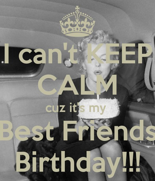 25+ Best Best Friend Birthday Quotes On Pinterest