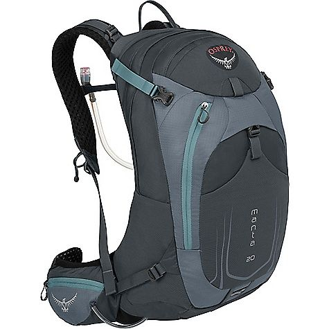 Osprey Manta AG 20 Pack: FEATURES of the Osprey Manta AG 20 Pack Direct zip access hydration compartment Dual upper and… #hiking #camping