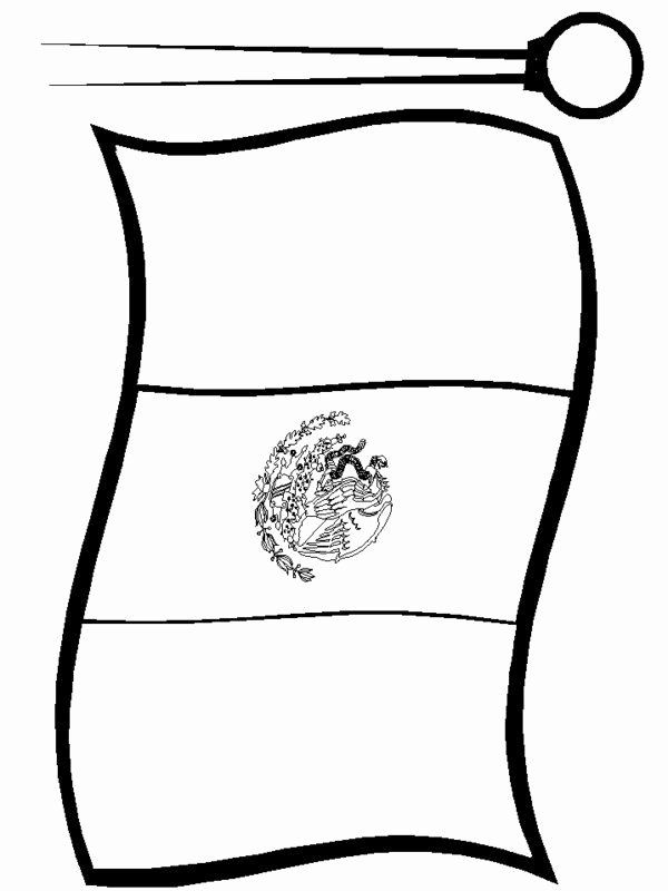 Mexico Flag Coloring Page Unique Mexican Flag Print Out Free Colorable In 2020 Flag Coloring Pages Mexican Flags Mexican Flag Colors