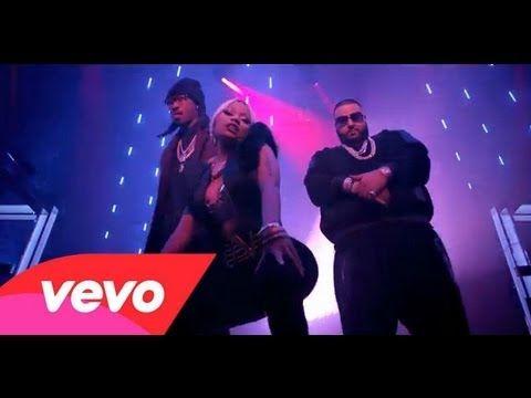 Dj Khaled Feat. Nicki Minaj, Future  Rick Ross - I Wanna Be With You (Offcial Music Video)
