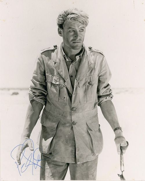 Peter O'Toole as T. E. Lawrence Lawrence of Arabia (1962)