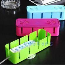 Placa tomada segurança recipiente de armazenamento de cabos de plástico caixas do organizador caixa(China (Mainland))
