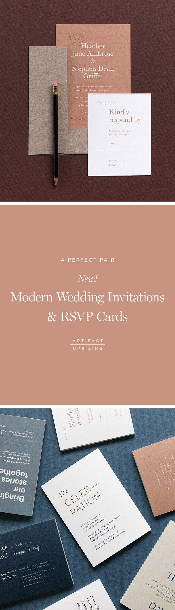 Make it simple. Make it yours.  Introducing @artifactuprsng's newest addition: Wedding Invitations. Get yours today.