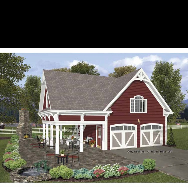 I would love to build this as an attached garage to my home!!