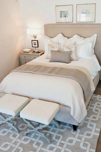 bedroom.serene| via things that inspire