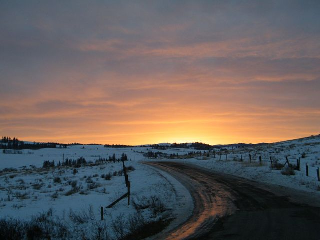 Share from UPLO: Kamloops sunset  by Andrew Martin