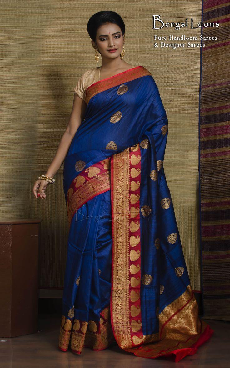 Tussar Silk Banarasi Saree