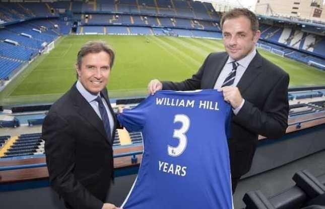 William Hill será la casa de apuestas del Chelsea los próximos tres años