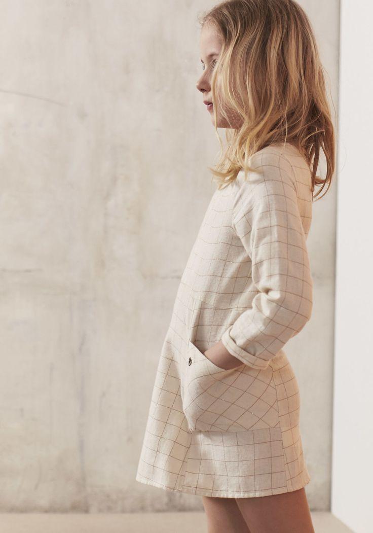 Vestido cuadros niña | Otoño / Invierno IKKS | Niña