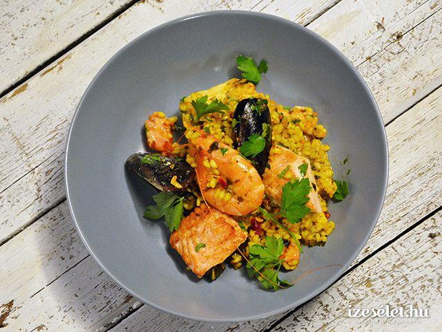 Spanyol paella - Receptek | Ízes Élet - Gasztronómia a mindennapokra