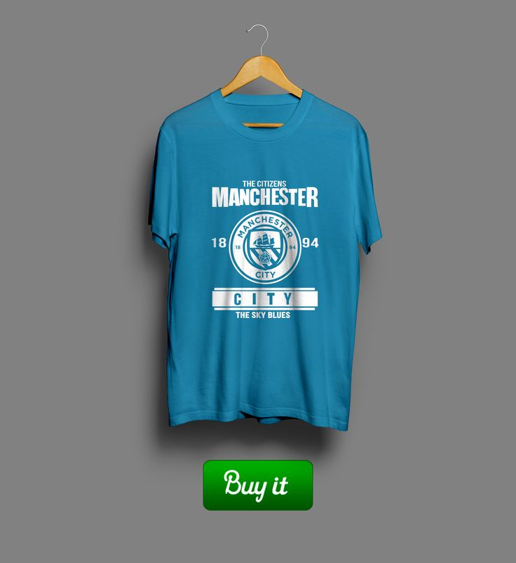 1894 Manchester | #Manchester #city #Манчестер #Сити #футболка #tshirt #football  #футбол #FC #ФК