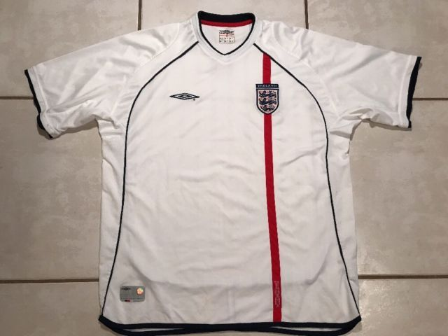 Vintage UMBRO England National Team 2001/2003 Soccer Jersey Men's 2XL | eBay