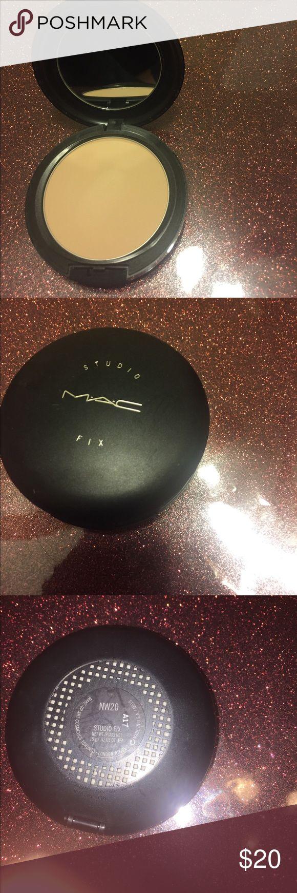 MAC Studio Fix Powder Foundation Color NW20. Box not available MAC Cosmetics Makeup Foundation