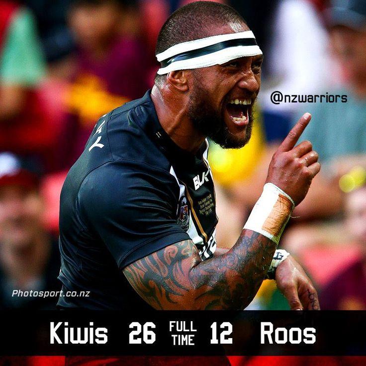 Take a bow Kiwis, you've done New Zealand proud! Congratulations to man of the match Manu Vatuvei, Shaun Johnson, Simon Mannering, Ben Matulino, Thomas Leuluai and the entire Kiwis squad and coaching staff.