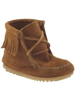Minnetonka Moccasin Ankle Hi Tramper (Infant/Toddler/Youth) | Piperlime