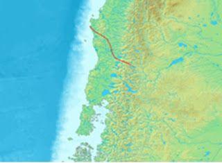 Gestión de Terremotos.: Falla Geológica en  la Ciudad de Temuco
