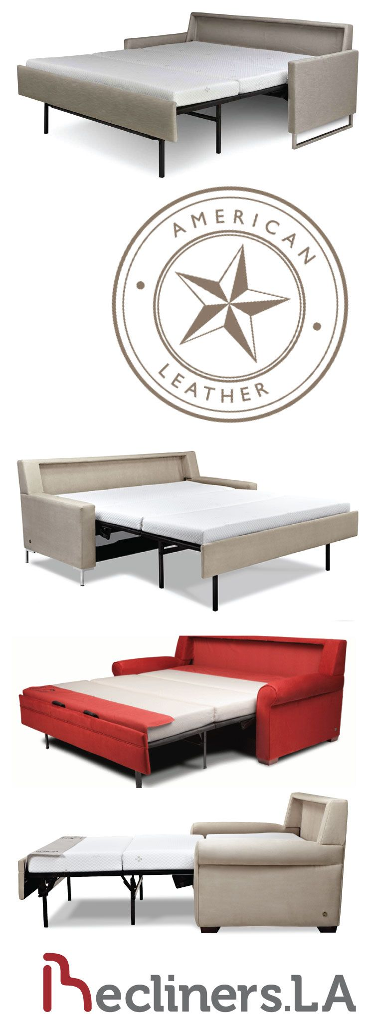 range american pin leather a by in gina sofa leathers sleeper is comforter of comfort available sectional