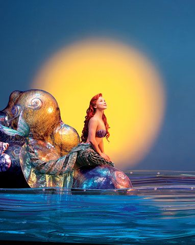 play Ariel in The Little Mermaid musical