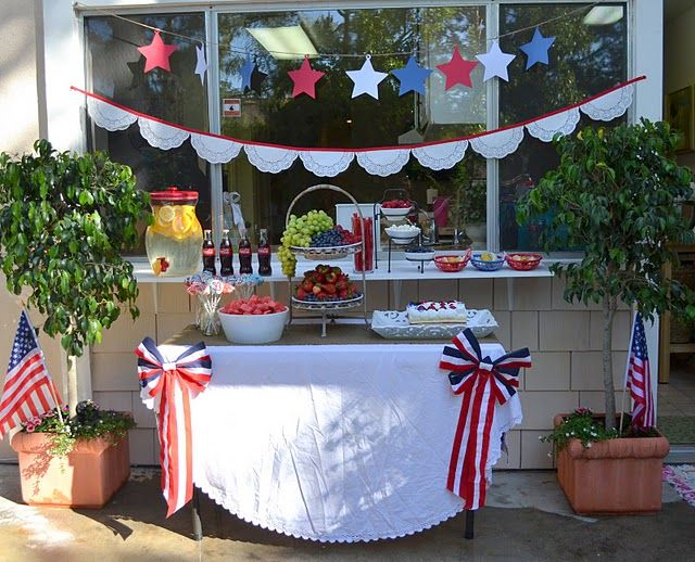 Fourth of July Backyard Party - Adventures, holiday, Real Life - Little Miss Momma