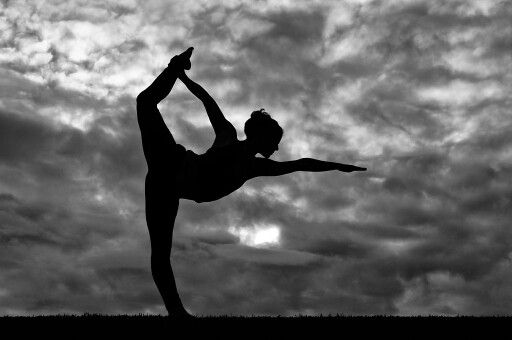 Black and white photography  Yoga  Dancer pose  Bow  Warrior  Backbend    Yoga Images Black And White