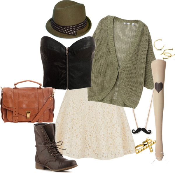 """""""If i were a hipster..."""" by eclare887 on Polyvore"""