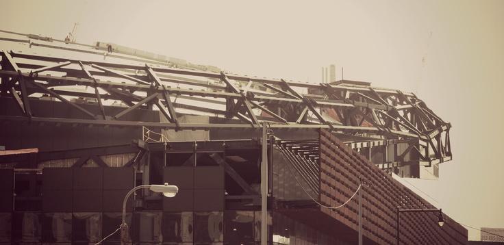 Brooklyn Nets, Barclays Center Under Construction