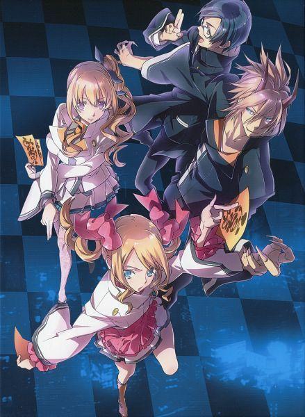 Tags: Anime, Sumihey, Tokyo Ravens, Ato Touji, Dairenji Suzuka, Kurahashi Kyouko, Momoe Tenma