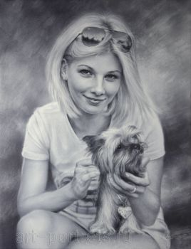 Artist Igor Kazarin draws live portraits and portrait from photographs now more than 25 years, performing exceptionally realistic portraits. Over the whole period artist Igor Kazarin developed his ...