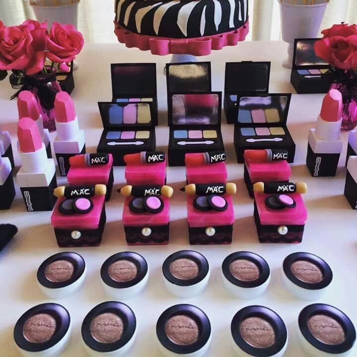 17 Best Ideas About Makeup Birthday Parties On Pinterest