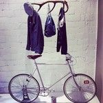 #bottegaottodue #rucksack #chambray #denim #tokyobikemilano #pedaled #bike #cycle #bikeculture #streetstyle #style #instagood #shop #shopping #store #blog #blogger #velo #magazine #cool #brooks #people #followus