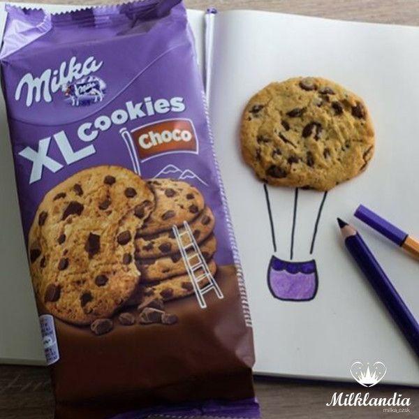 Bom diaaaaa!!!  Delícia é acordar sabendo que tem Cookies com gotinhas do melhor chocolate do mundo no café da manhã e que amanhã é feriado!💜🍫🍪    ➡️http://bit.ly/2oXndYs    #feriado #feriadochegalogo #milka #cookies #amorporchocolate