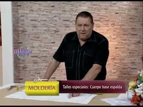 Hermenegildo Zampar explica la espalda para talles especiales. Visitá www.bienvenidas.com