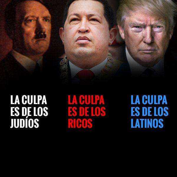 Cuando la humanidad no aprende de sus errores #Venezuela #DonaldTrump #Trump #chavez #HugoChavez
