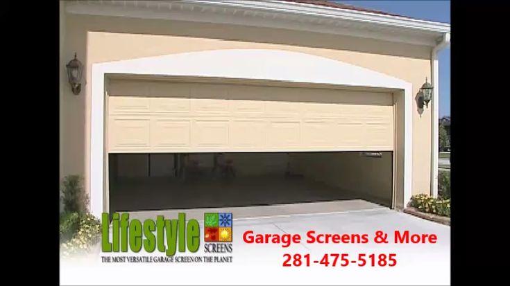 Bug Free Additional Outdoor Room Video Custom Garage Doors Garage Doors Garage Makeover