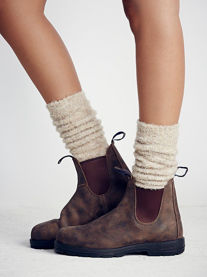 Blundstone Shearling Ankle Boot at Free People Clothing ...