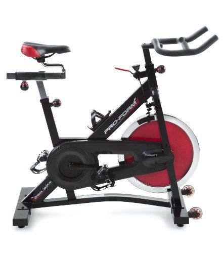 My spin bike... i got it almost brand new on craigslist for $200.00...... ProForm 290 SPX Indoor Cycle Trainer $296.99